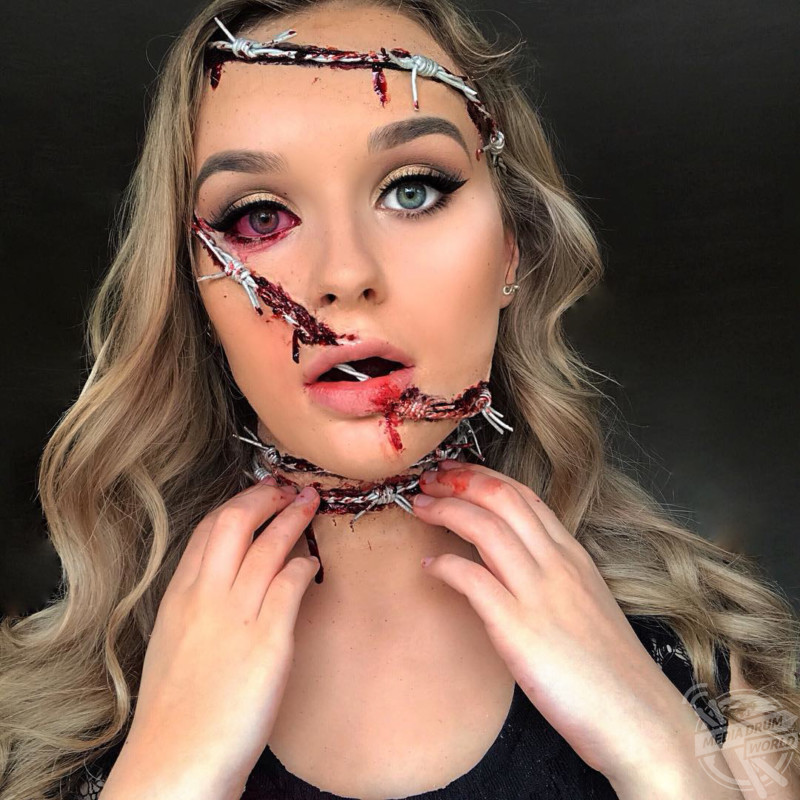 These Makeup Effects Will Give You Nightmares Clever