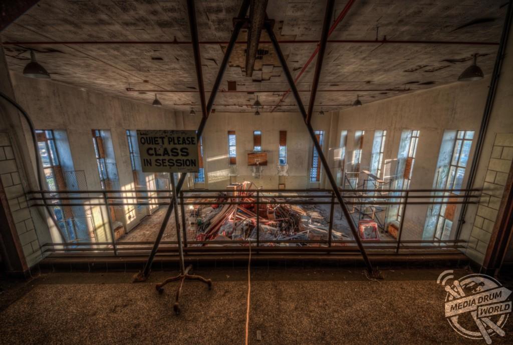 Abandoned Katrina Hospital