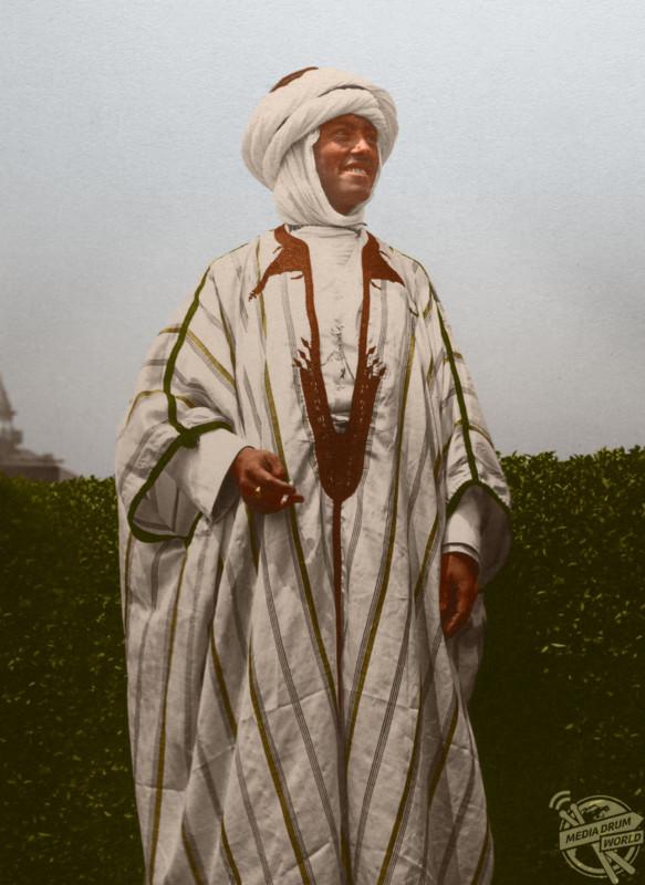 Algerian man.