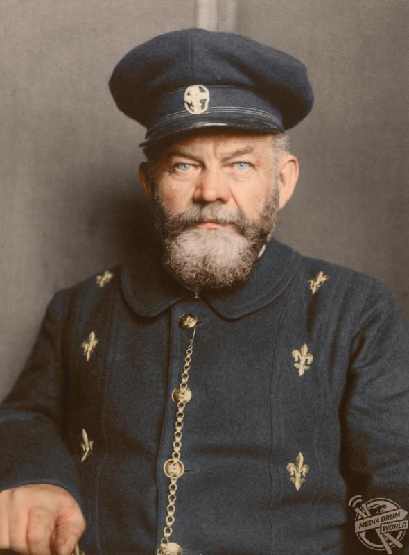 Danish man, c1909.