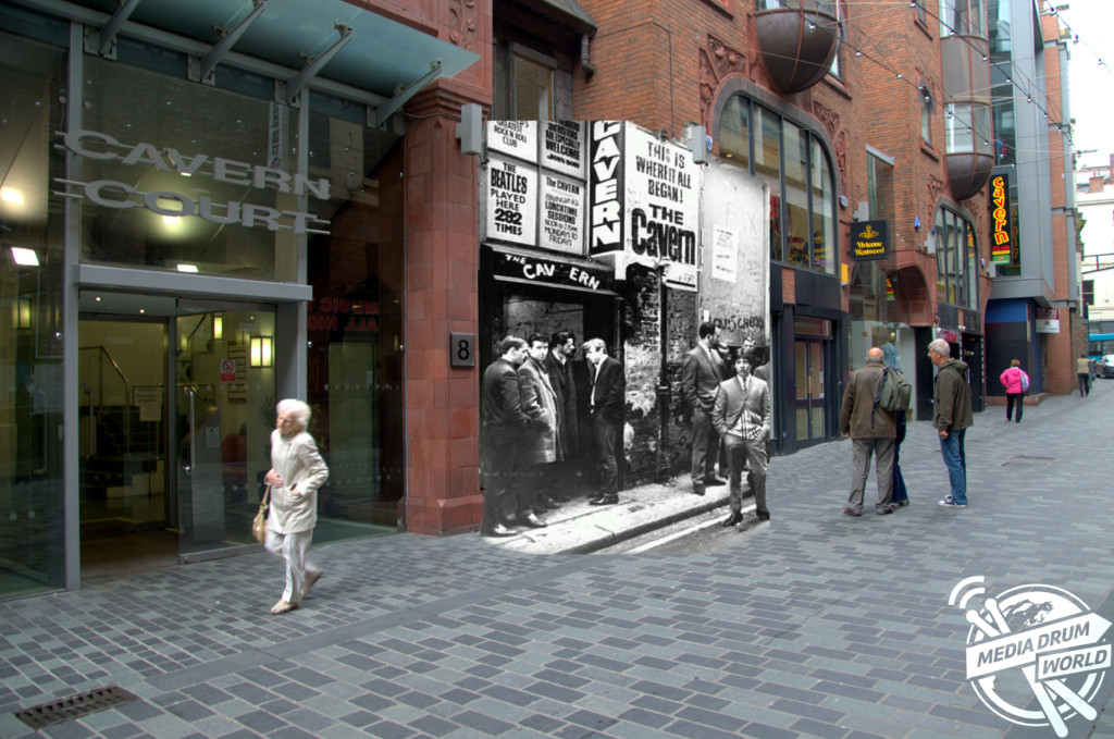 """The Cavern Club, Mathew Street"", 1960s."