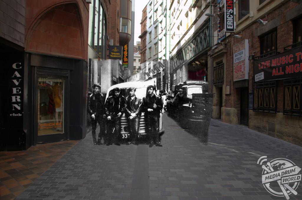 Mathew Street, 1960s.