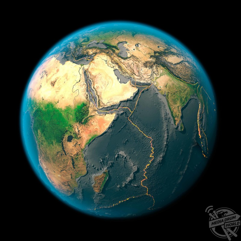 Global tectonics, Arabia and Indian Ocean