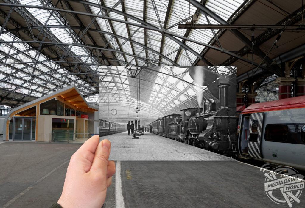 Lime Street Railway Station, 1890. Keith Jones / mediadrumworld.com