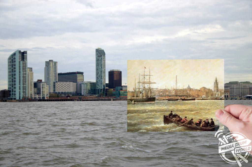 River Mersey 1873. Keith Jones / mediadrumworld.com