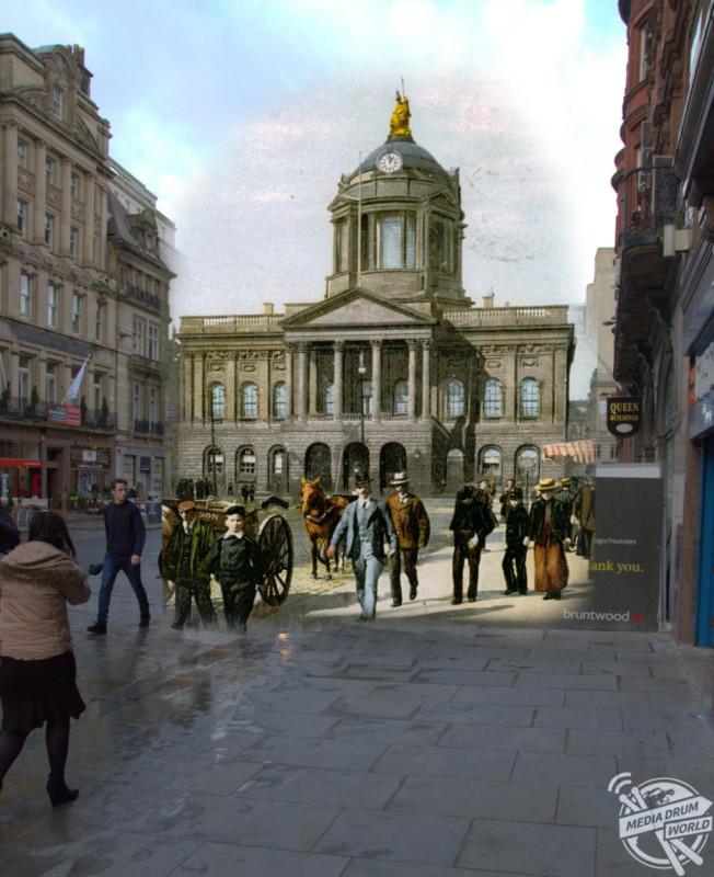 Town Hall, 1890s. Keith Jones / mediadrumworld.com