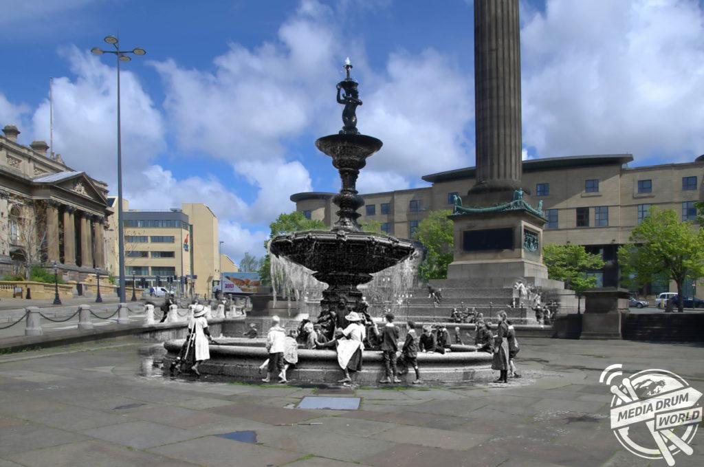 Steble Fountain, 1895. Keith Jones / mediadrumworld.com