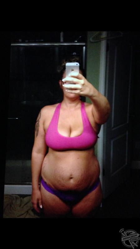 Kassidy before her weight loss transformation. Kassidy Linde / mediadrumworld.com