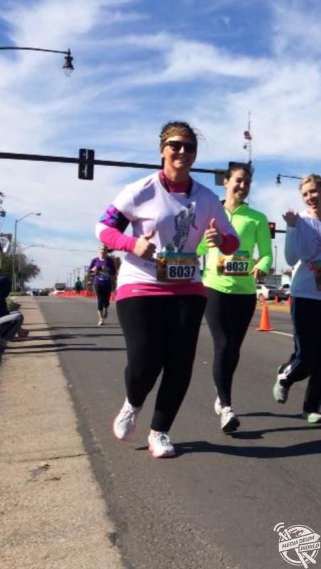 Katrina loves running. Katrina Buening / mediadrumworld.com