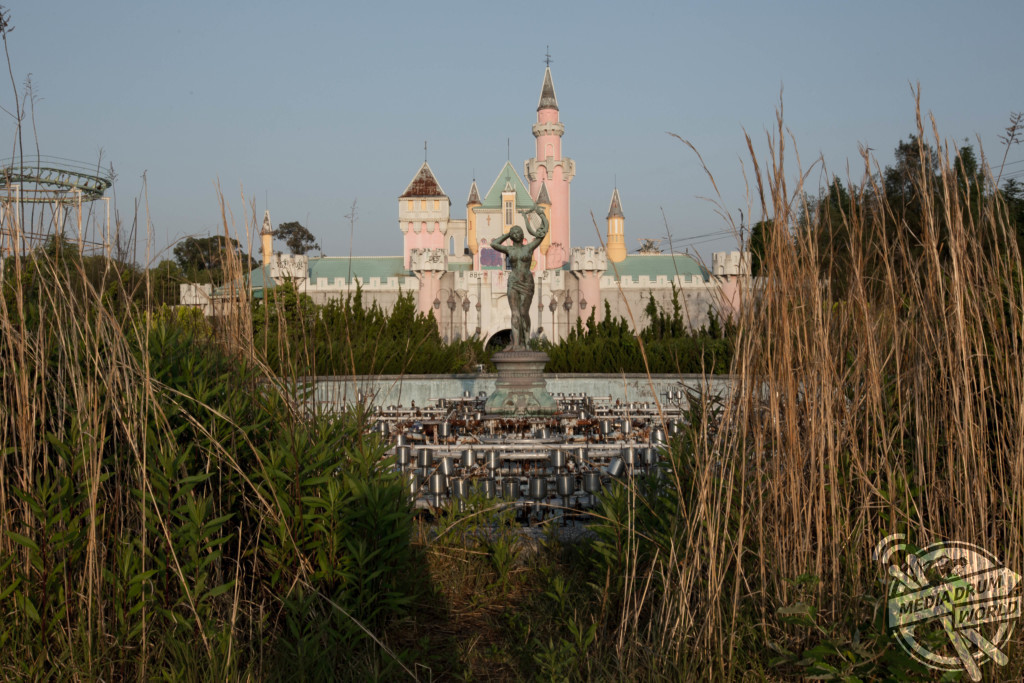 NARA, JAPAN: EERIE video footage by a petrified young couple has revealed a last look at the largest abandoned theme park in the world before it is due for complete demolition. Michael (Proper People) / mediadrumworld.com