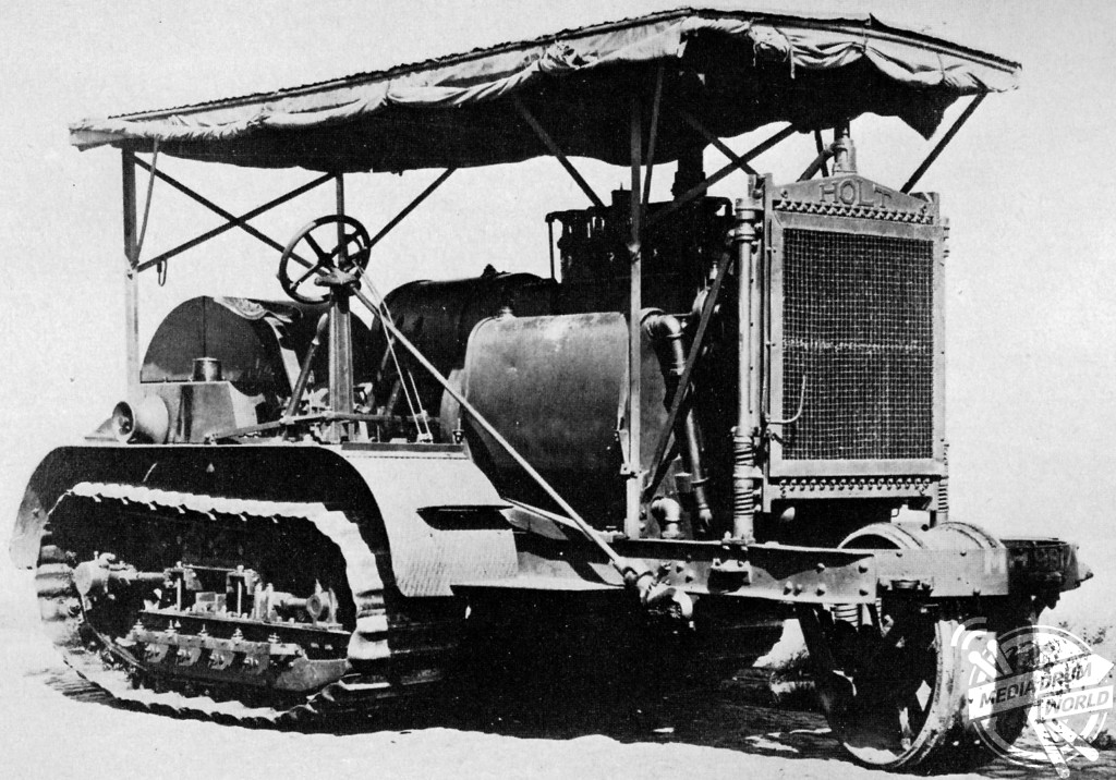 The Holt 75 model gasoline-powered caterpillar tractor provided the inspiration for the tank.  Anthony Tucker-Jones / mediadrumworld.com