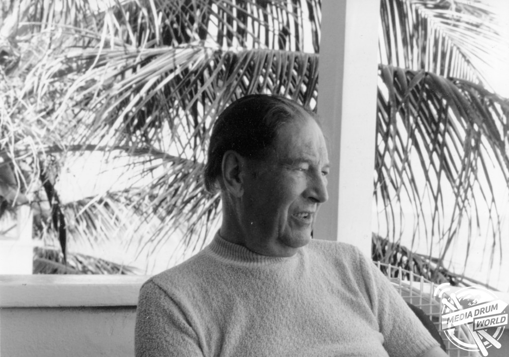 GW on holiday in the Virgin Islands at the end of March 1985 - He learned of his terminal illness shortly after returning home.  Joel Greenberg / mediadrumworld.com