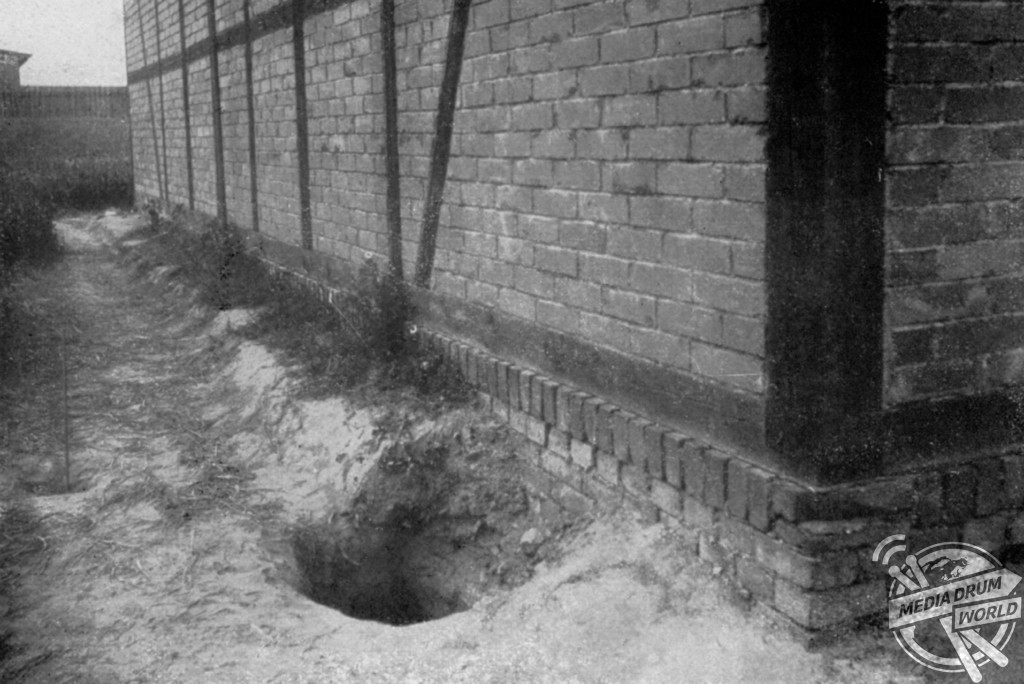 A failed escape tunnel that came to the surface too early.  Rachel Bilton / mediadrumworld.com
