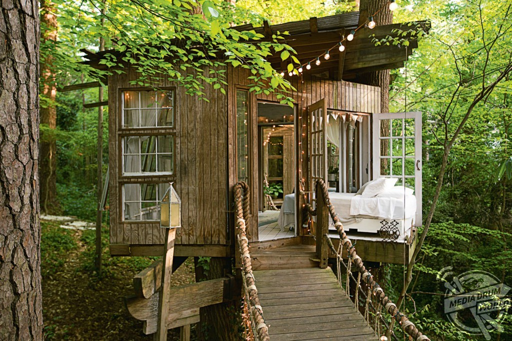 Atlanta Treehouse. Designed by Peter Bahouth. Georgia, USA. Antonia Edwards / mediadrumworld.com