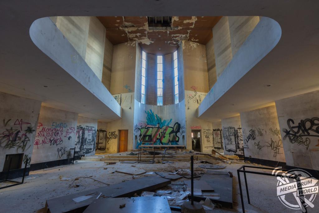 Media and Design School, Belgium.  Martin ten Bouwhuijs / mediadrumworld.com