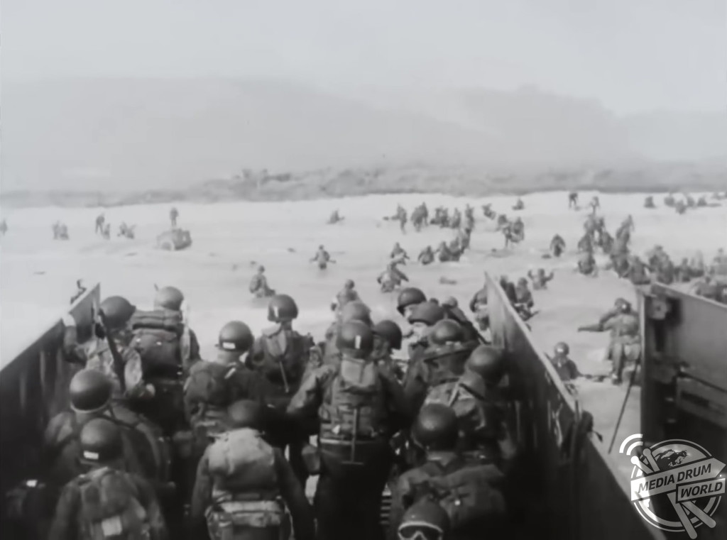 Remarkable Lost Footage From D Day Recorded Under Orders