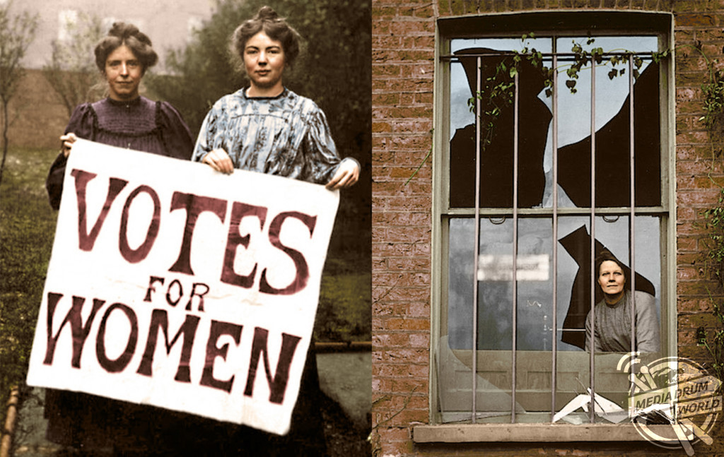 Images Showing Women Fighting For Their Right To Vote Are ...