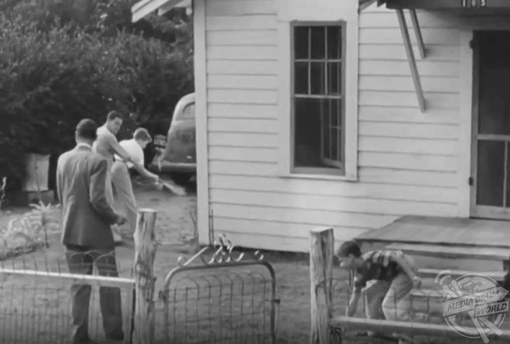 Shocking 1940s newsreel reveals how people were sprayed with dangerous pesticide in the hopes to for Polio transmission swimming pools