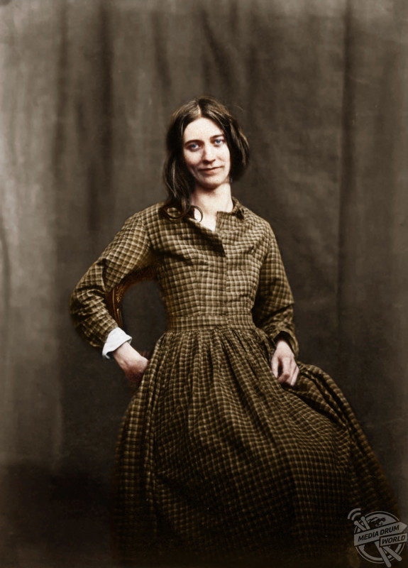 Insanely Colourised Images Depict Asylum Patients From The